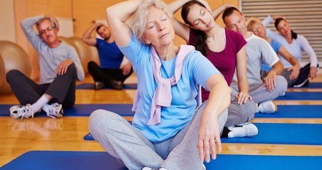 Entrainement sportif pour seniors